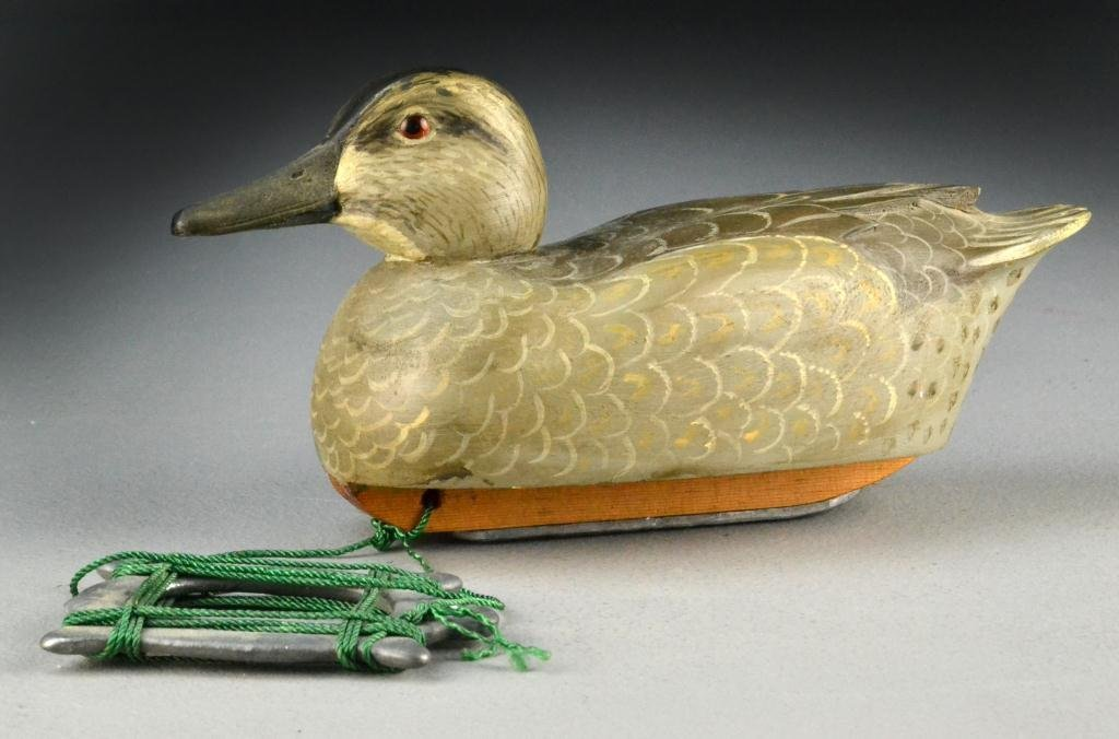 190: (2) Woodson Roddy Duck Decoys - Signed - 2