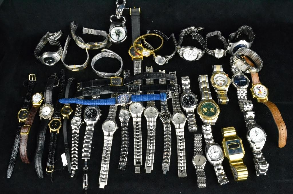 368: Collection of (37) Wrist Watches