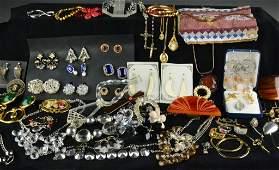 372: (50+) Pcs. Vintage Costume Jewelry