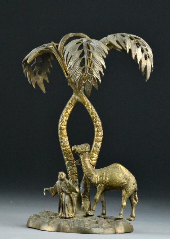 625: Bronze Camel Sculpture