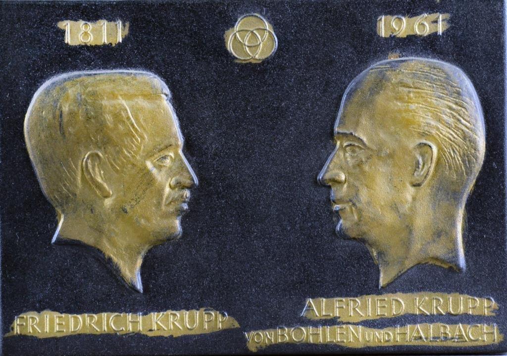 626: German Bronze Plaque