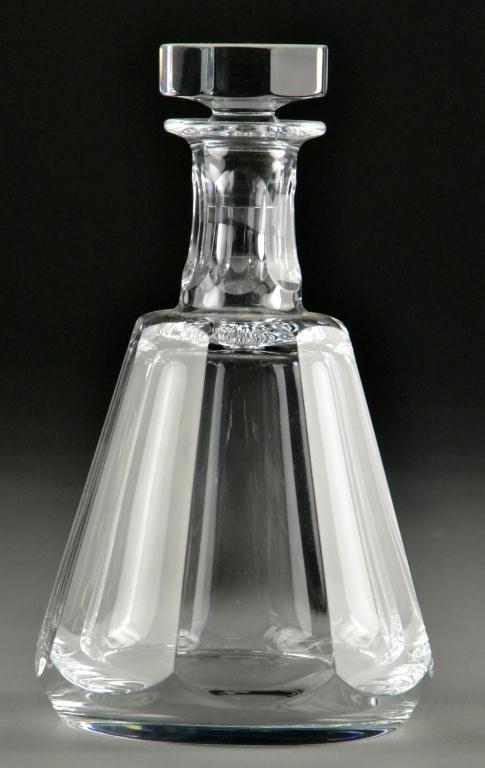 639: Baccarat Crystal Decanter