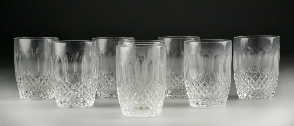 640: (8) Waterford Crystal Tumblers