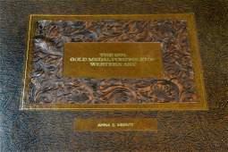 877: The Franklin Mint Gold Medal Portfolio Of Western