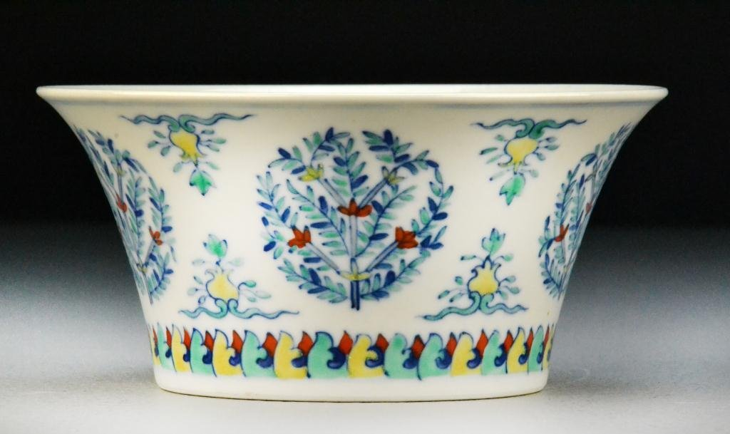 22: Chinese Dou Cai Porcelain Bowl