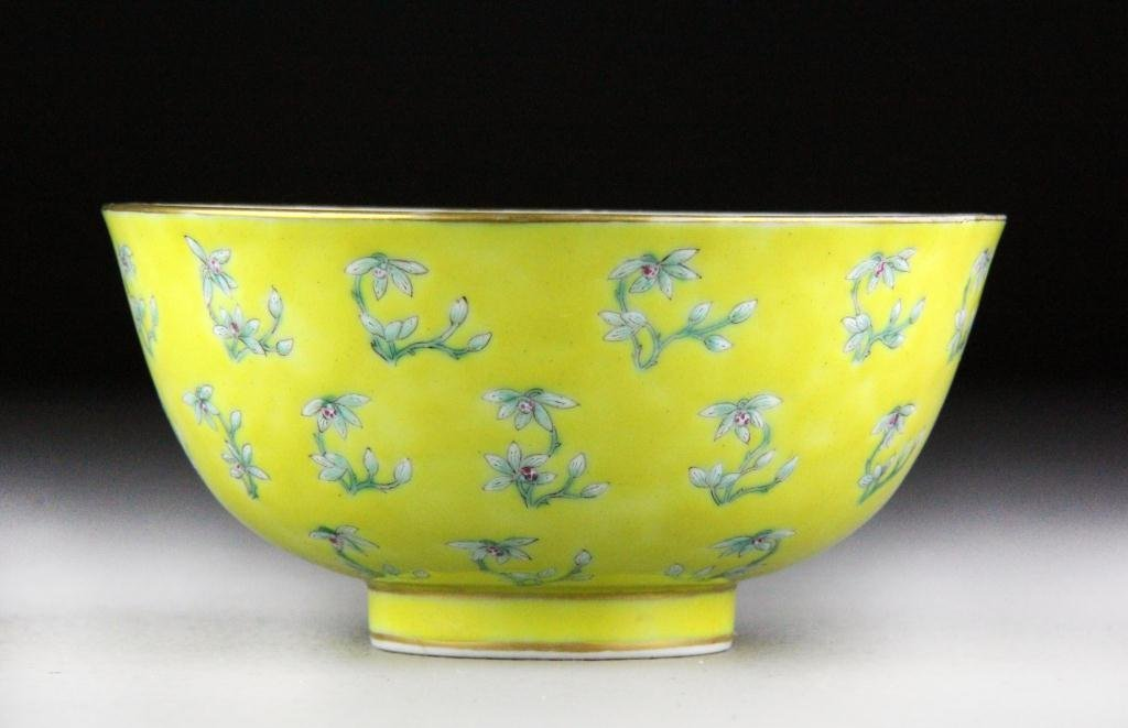 505: Chinese Famille Rose Porcelain Bowl