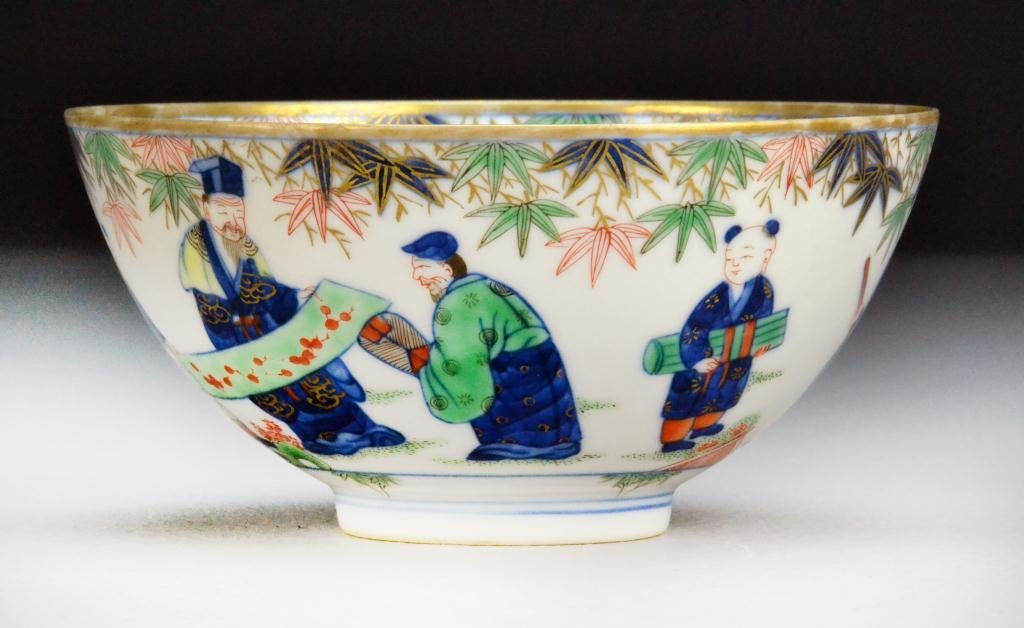 527: Chinese Famille Rose Porcelain Bowl