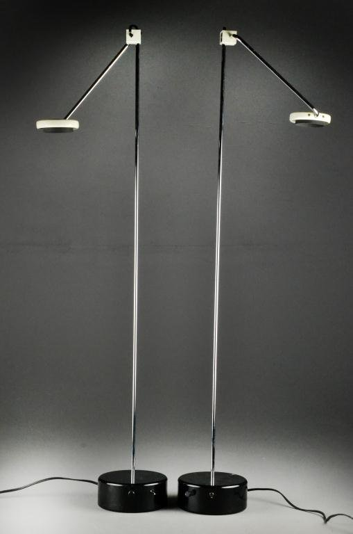 6: Pr. Modern To Mid Century Microphone Lamps
