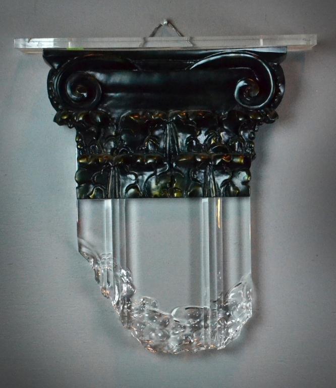 9: Lucite/Composite Decorative Sculpture by Renato