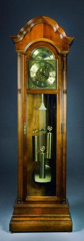 14: Howard Miller Tallcase Clock