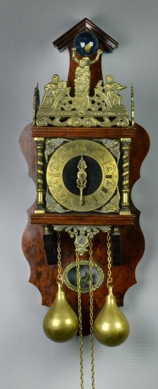 19: Atlas Chain-driven Wall Clock