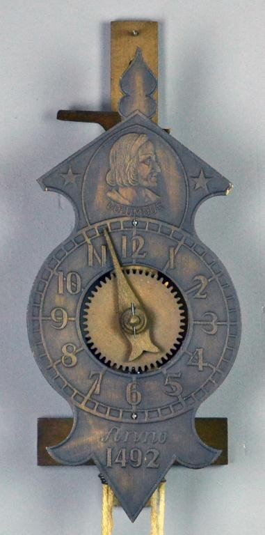 21: Harolovar Anno 1492 Columbus Wall Clock