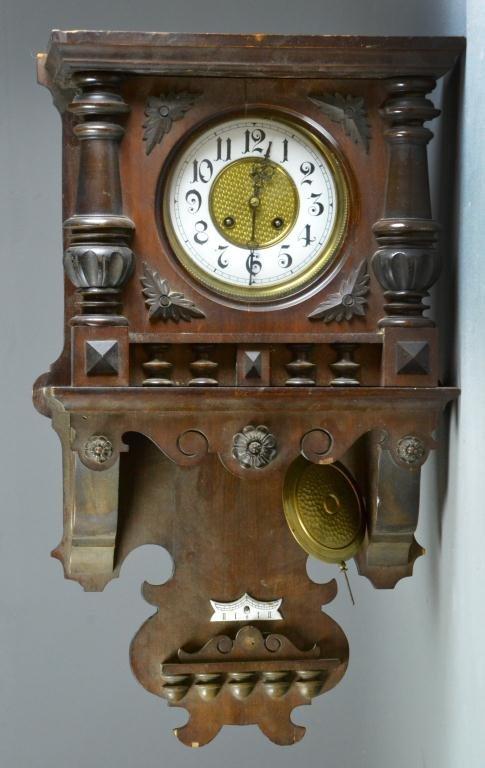 24: Eastlake Wall Clock
