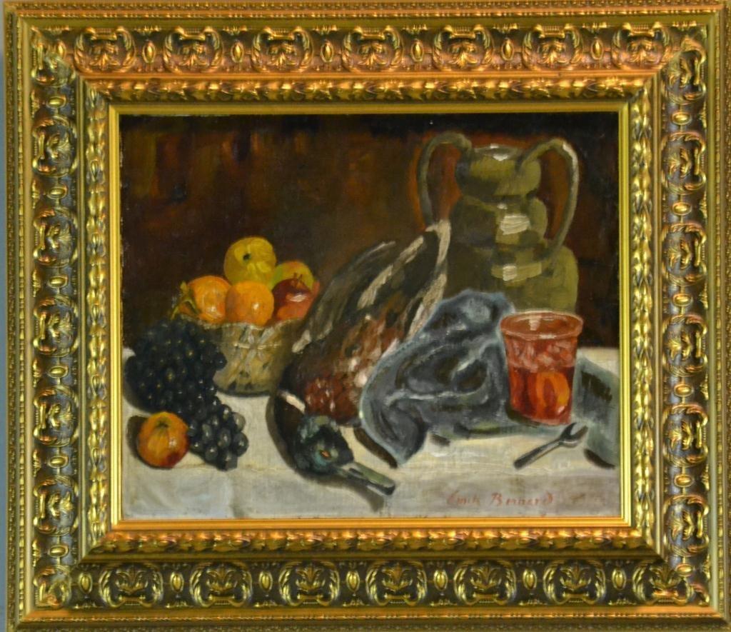 119: Emile Bernard Oil Painting On Canvas