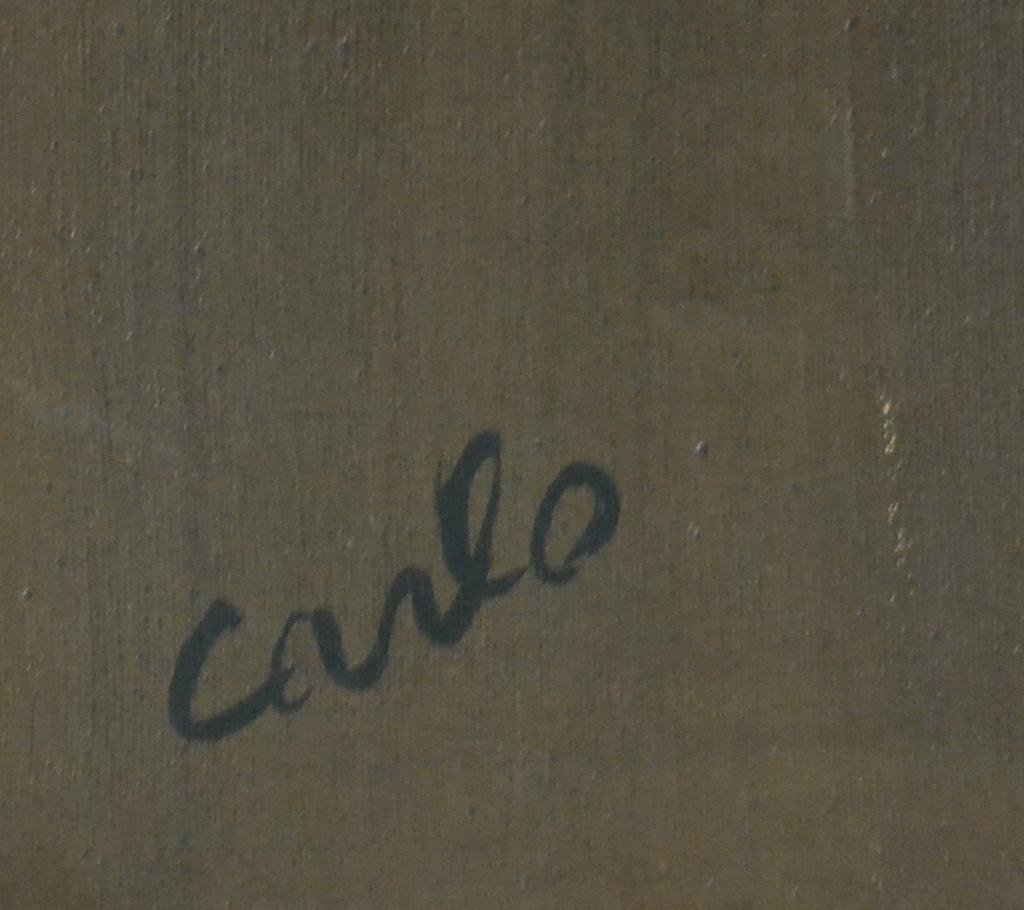 673: Carlo of Hollywood Abstract Painting On Canvas - 4