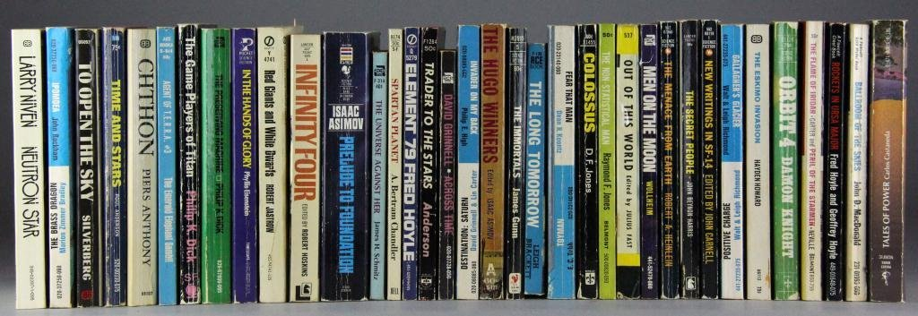 (97) Science Fiction Paperback Books