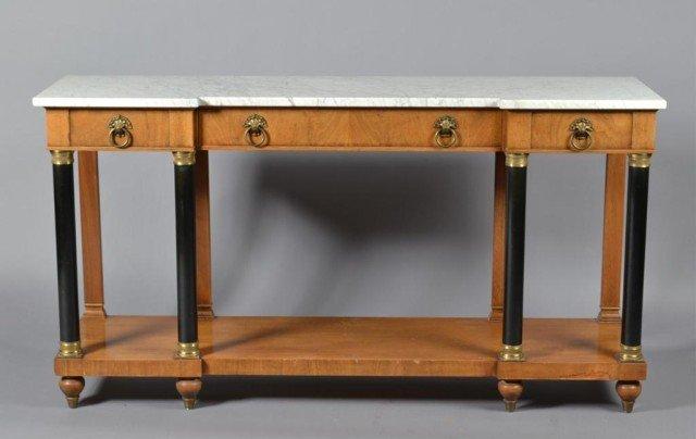 A Fine WM. A Berkey Furniture Classical Sideboard