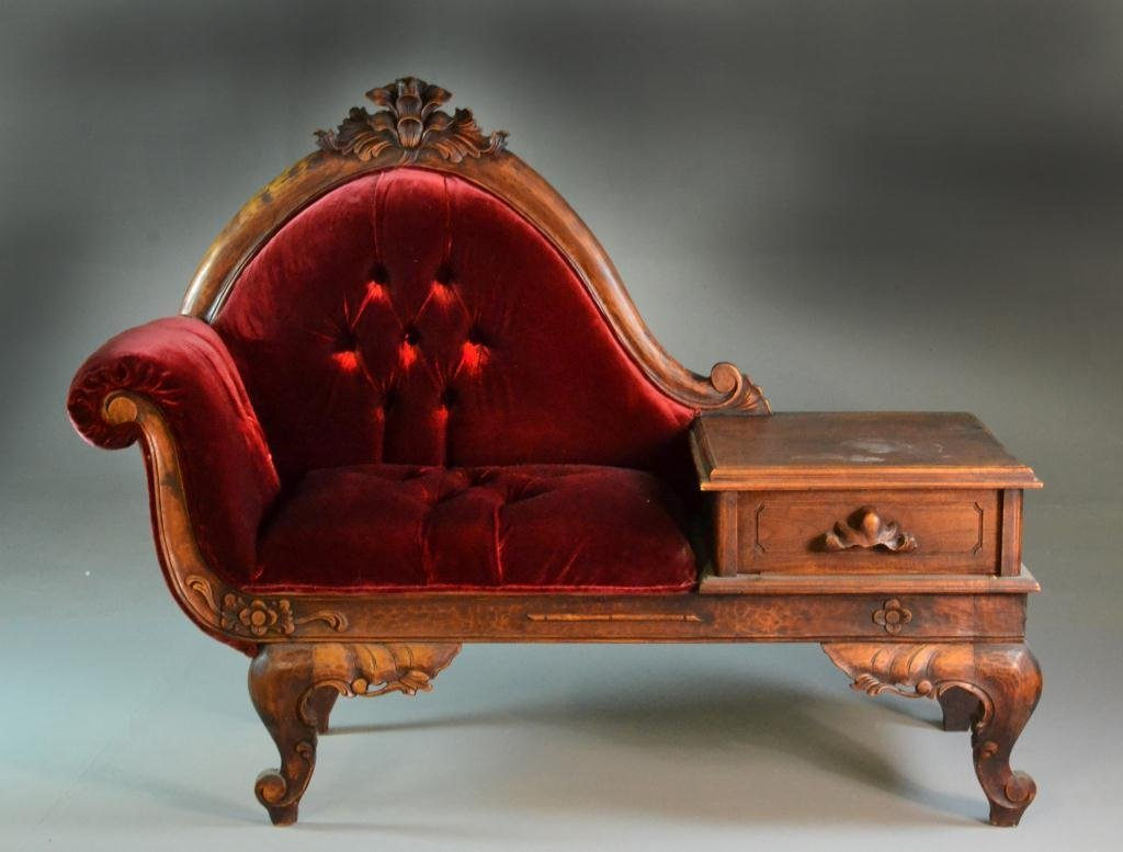 Victorian Style Parlor Seat