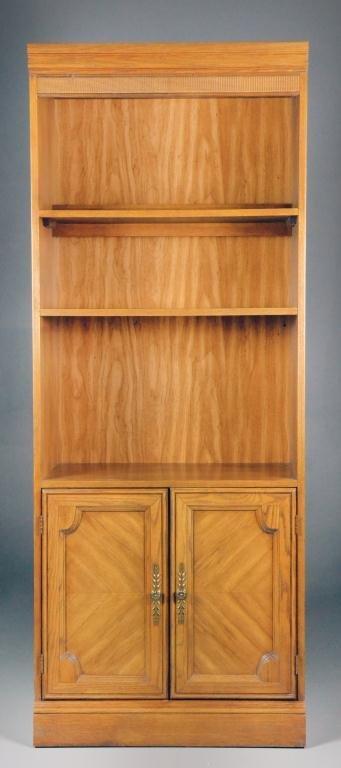 Oak Open Book Shelf