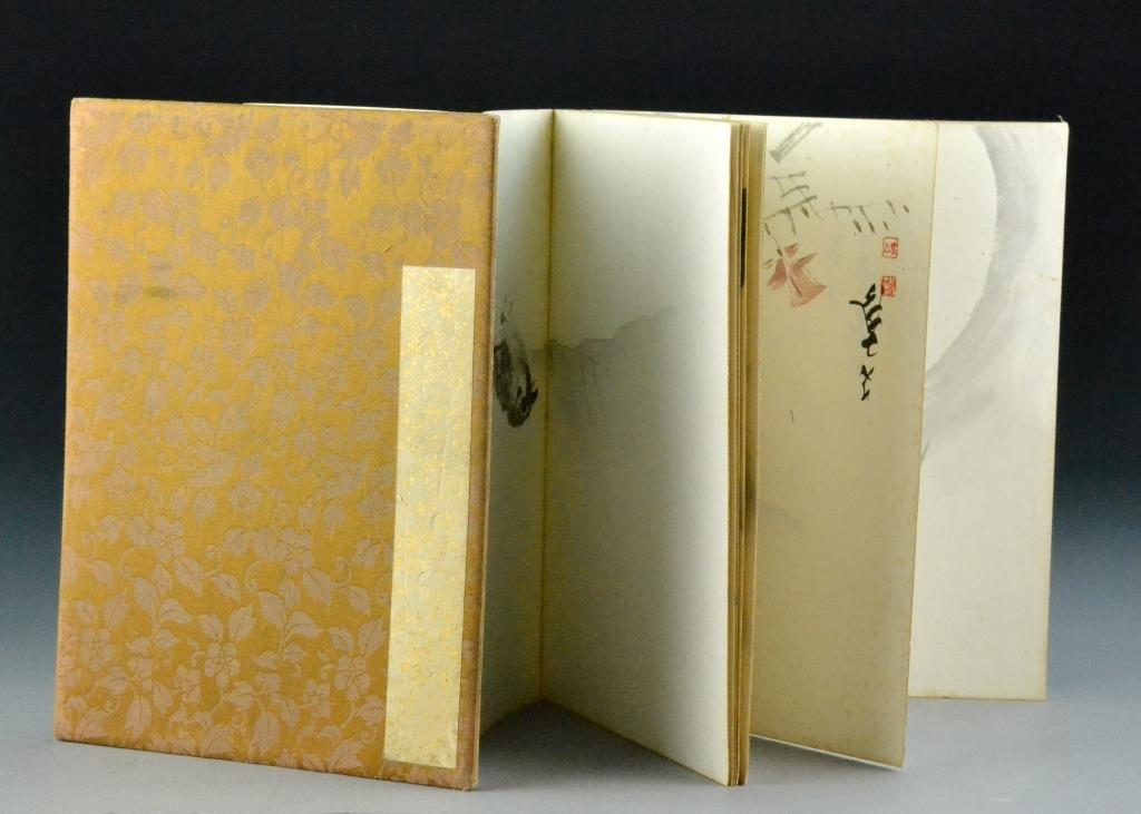 Japanese Painting Album- Meiji