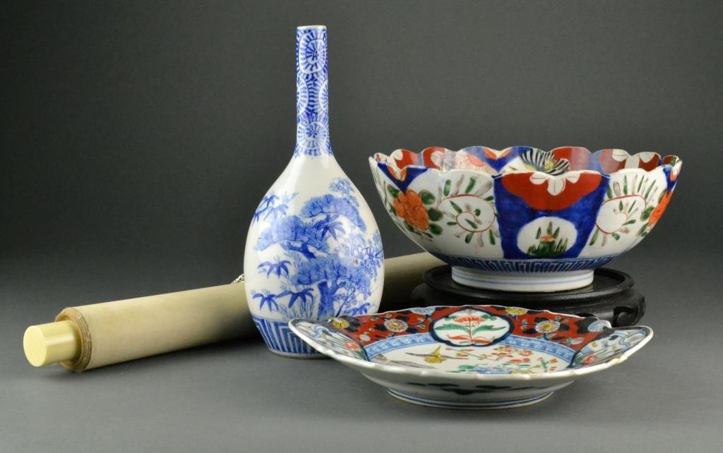 (4) Pcs. Japanese Decorative Arts