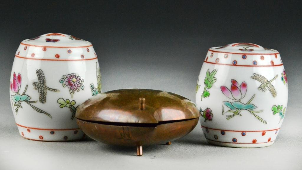 (3) Pieces Chinese Decorative Arts