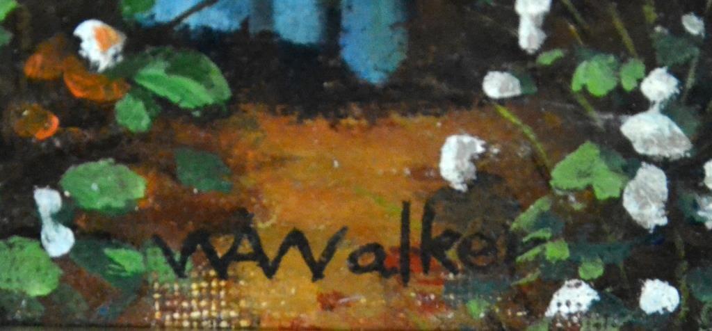 Bears The Signature William Aiken Walker Oil on Canvas - 3