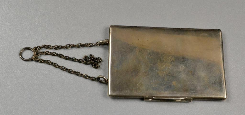 Sterling Silver Antique Appointment Book - 2