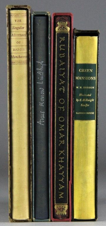 (4) Mid Century Books In Covers