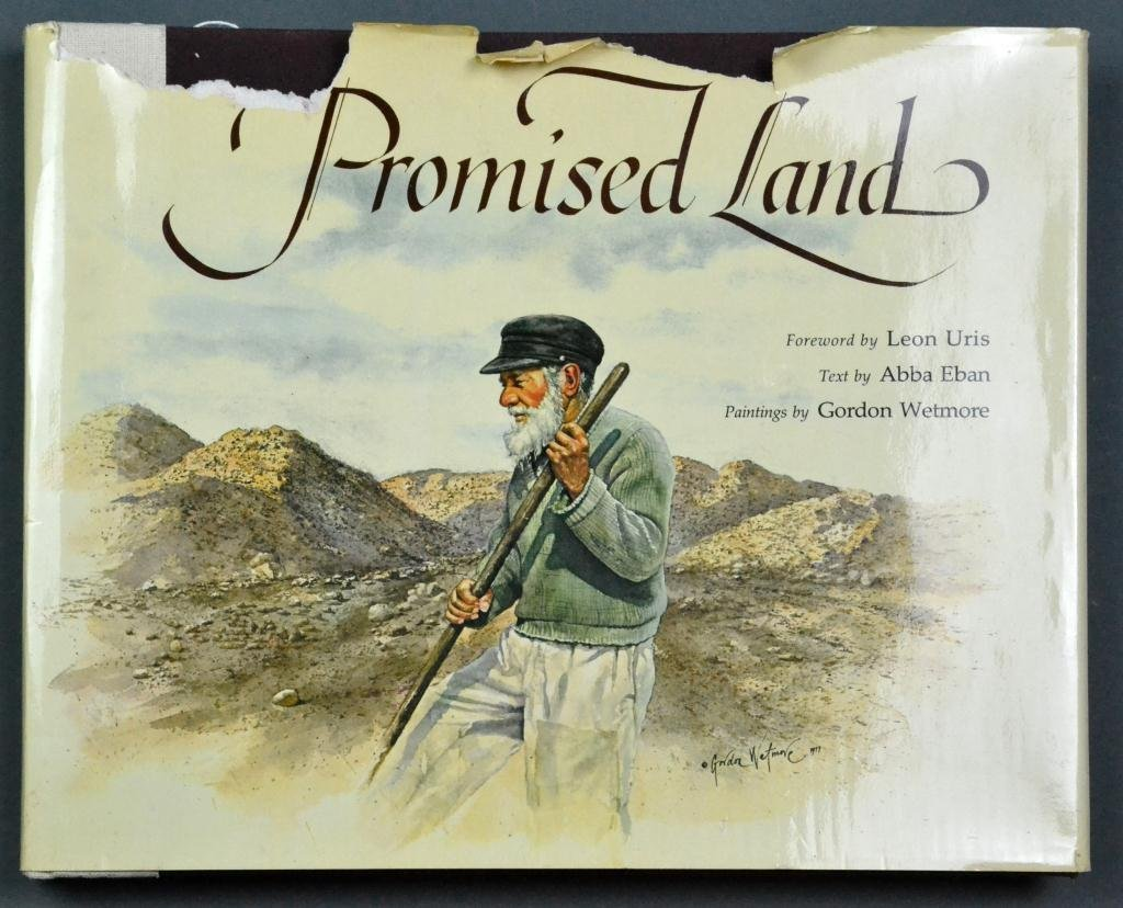 Oversized 1978 Color Illustrated Promise Land