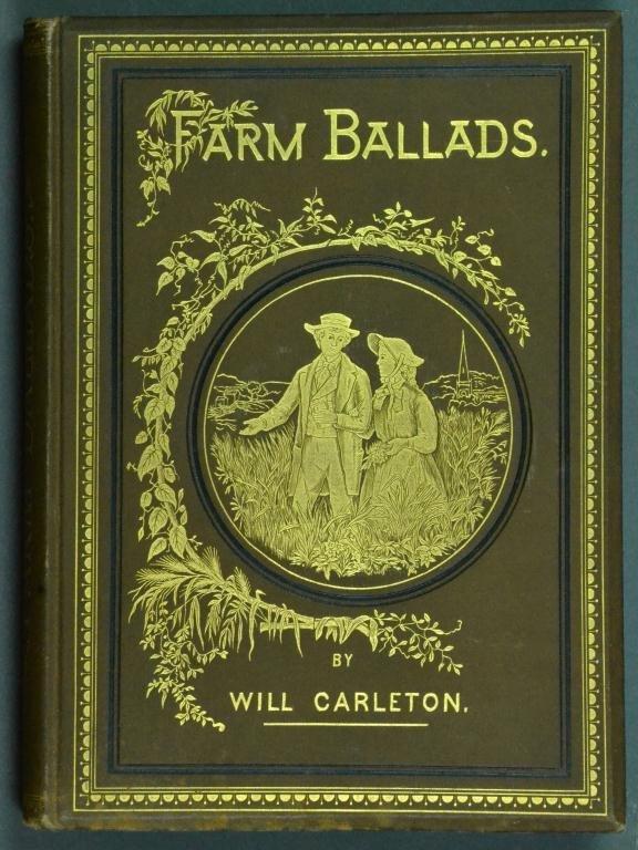 1882 Illustrated Farm Ballads By Will Carleton