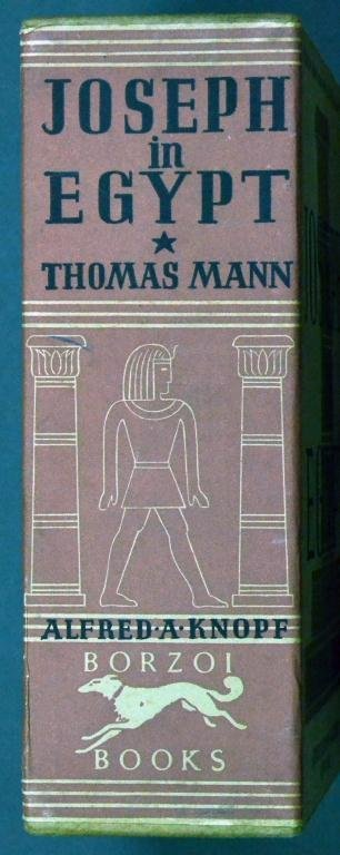 1938 Vol. 1 & 2 Joseph In Egypt By Thomas Mann