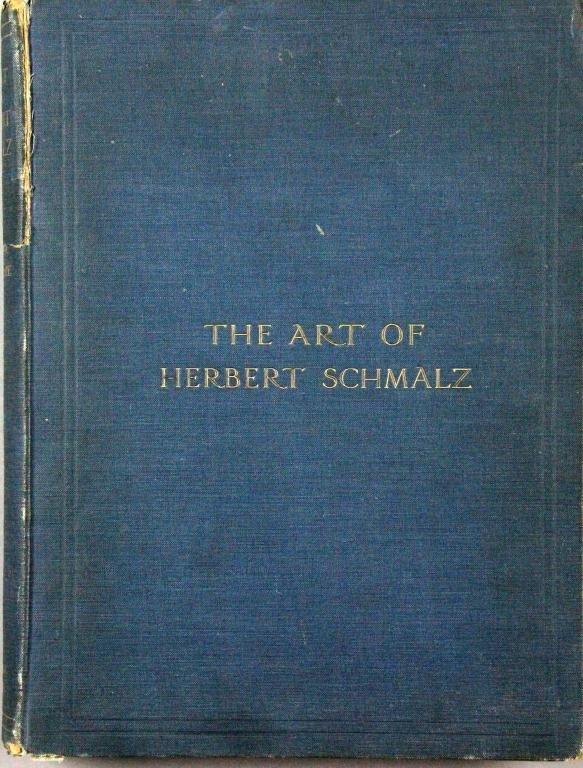 The Art Of Herbert Schmalz Hardcover Book