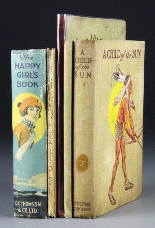 (5)  Late 19th To Early 20th Century Children's Books