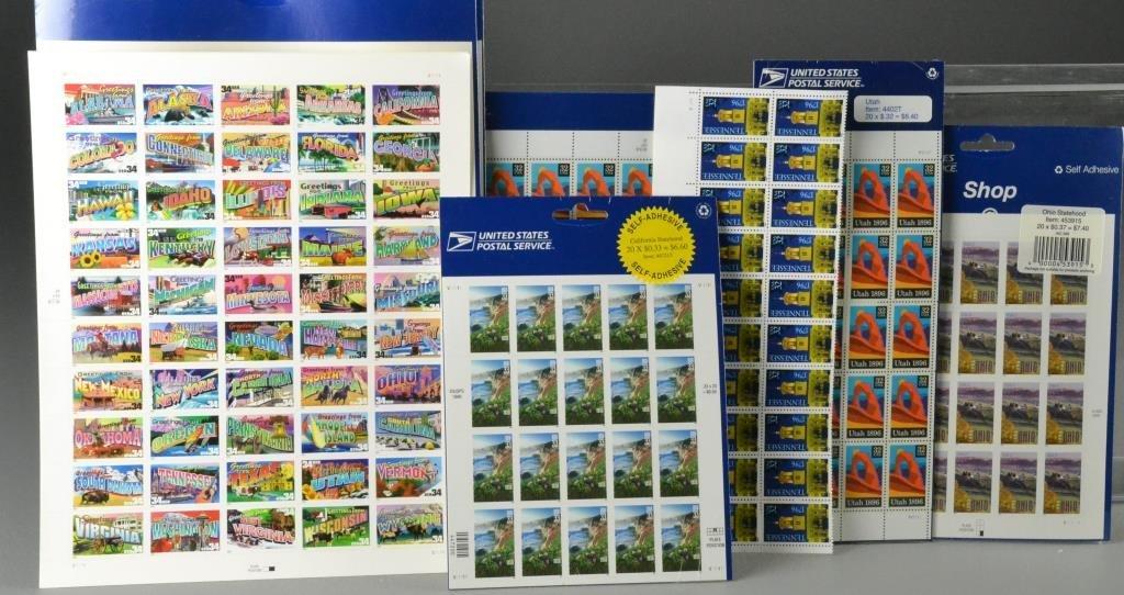 .32c - $1.00 U.S. Mint Stamp Packages $450.00 Face Valu