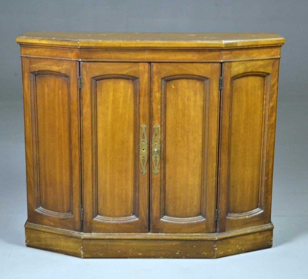 Mediterranean-Style Hall Cabinet