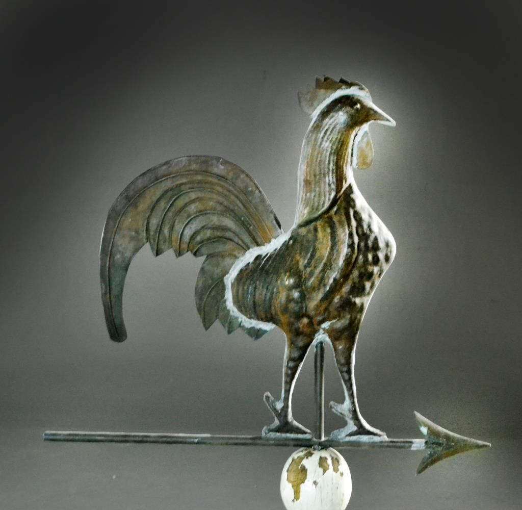 American Copper Rooster Weathervane