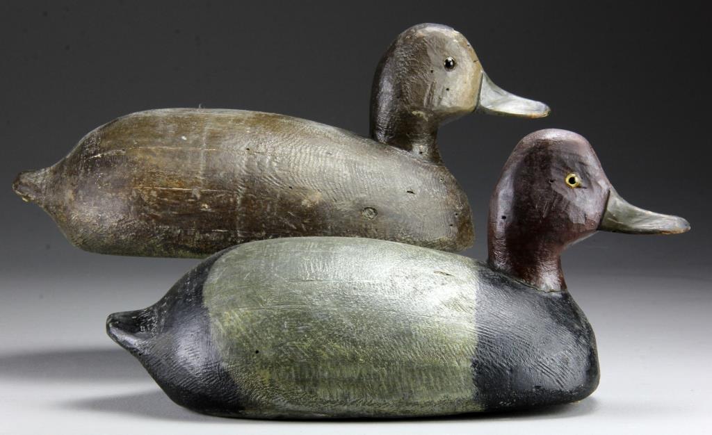 Pr. Red Head Duck Decoys