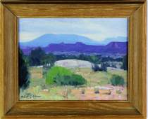 Robert Goldman Oil Painting on Canvas Board