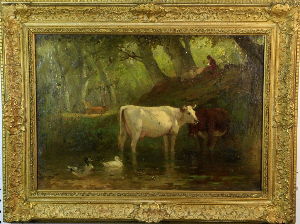 Samuel Lancaster Gerry Oil Painting on Canvas
