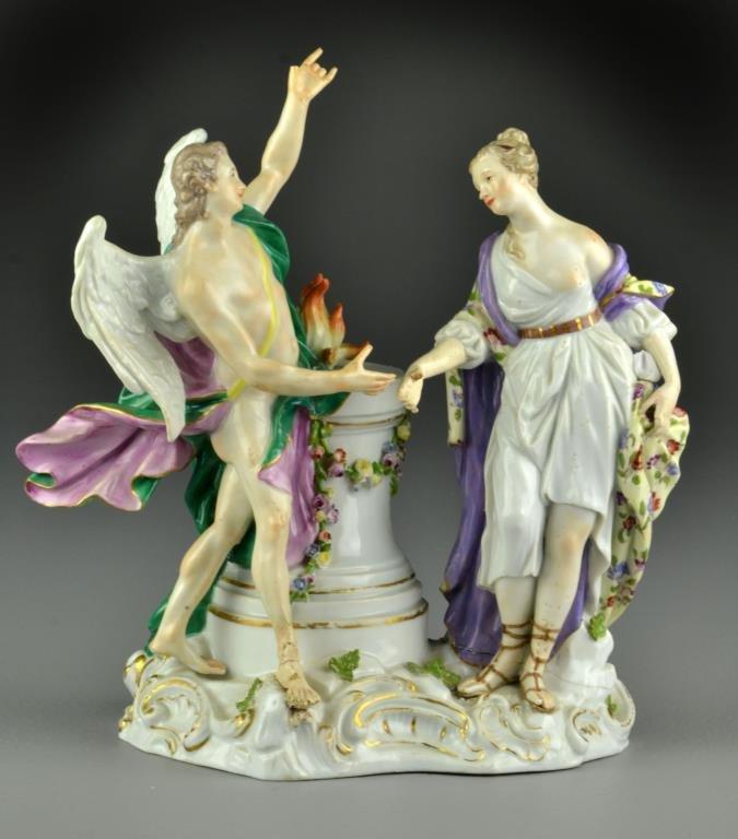 Meissen Porcelain Figural Sculpture