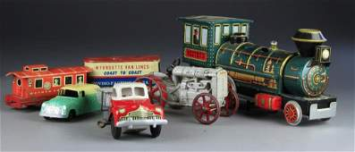 Large Grouping of Pressed Steel Toys Inc Hubley