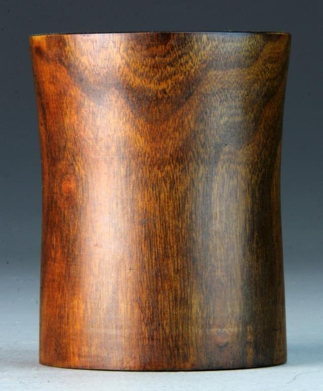 Chinese Huang Hua Li Wood Brushpot