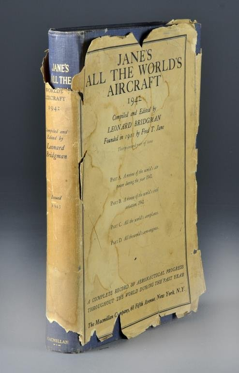 Jane's All The World's Aircraft 1942 First Edition