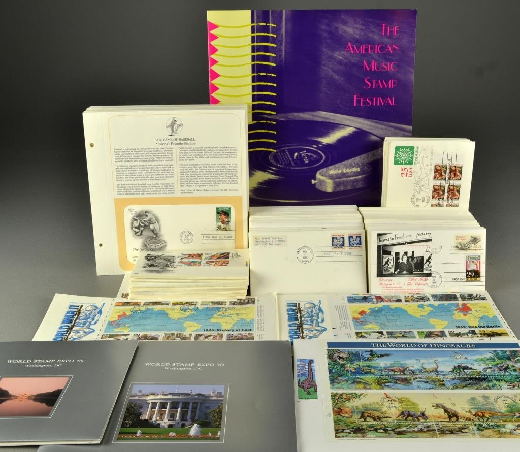 (4) Boxes Of U. S. First Day Covers
