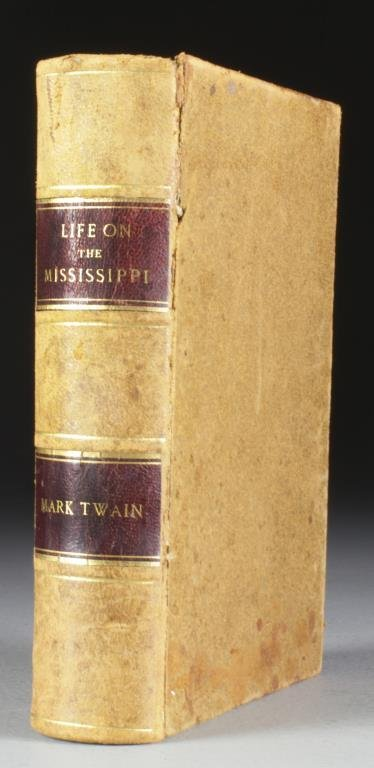 1883 Mark Twain Life On The Mississippi First Edition