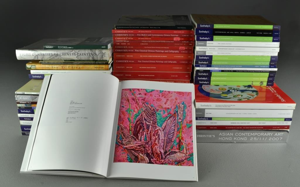(59) Sotheby's & Christie's Auction Catalogs China