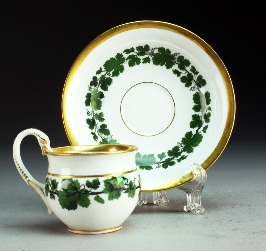 A Meissen Porcelain Cup & Saucer