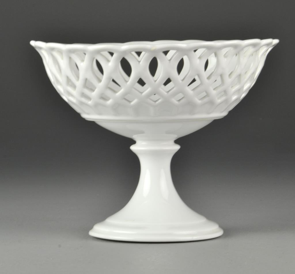 19th c. Continental Porcelain Compote
