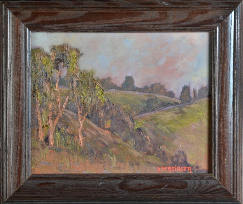 Dan Persinger Oil Painting On Board